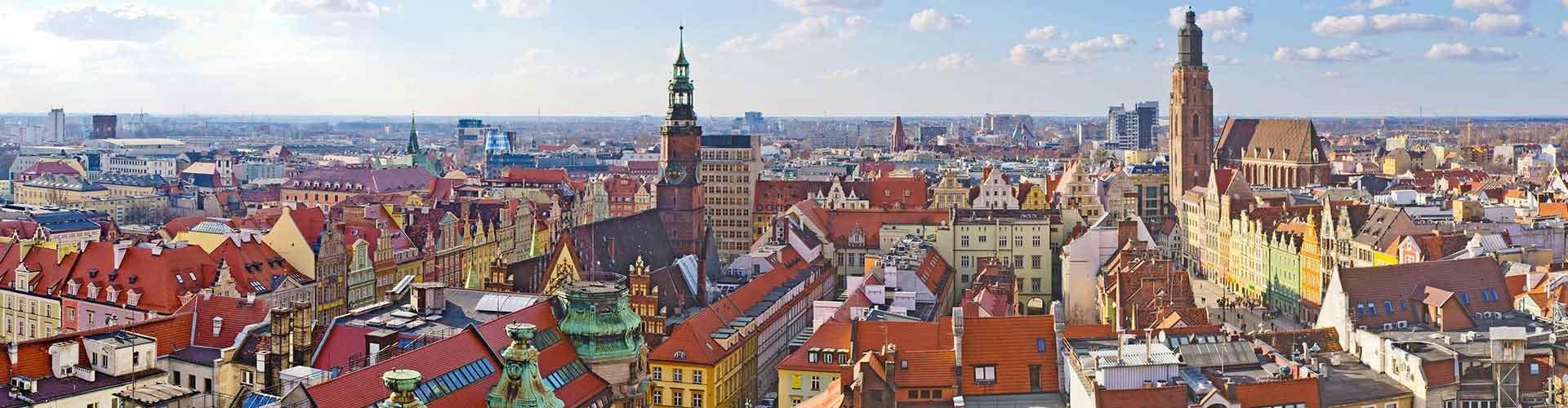 Wroclaw - Campamentos en Wroclaw. Mapas de Wroclaw, Fotos y Comentarios para cada campamento en Wroclaw.
