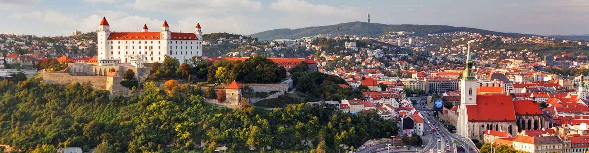 Bratislava - Albergues Juveniles en Bratislava. Mapas de Bratislava, Fotos y Comentarios para cada Albergue Juvenil en Bratislava.