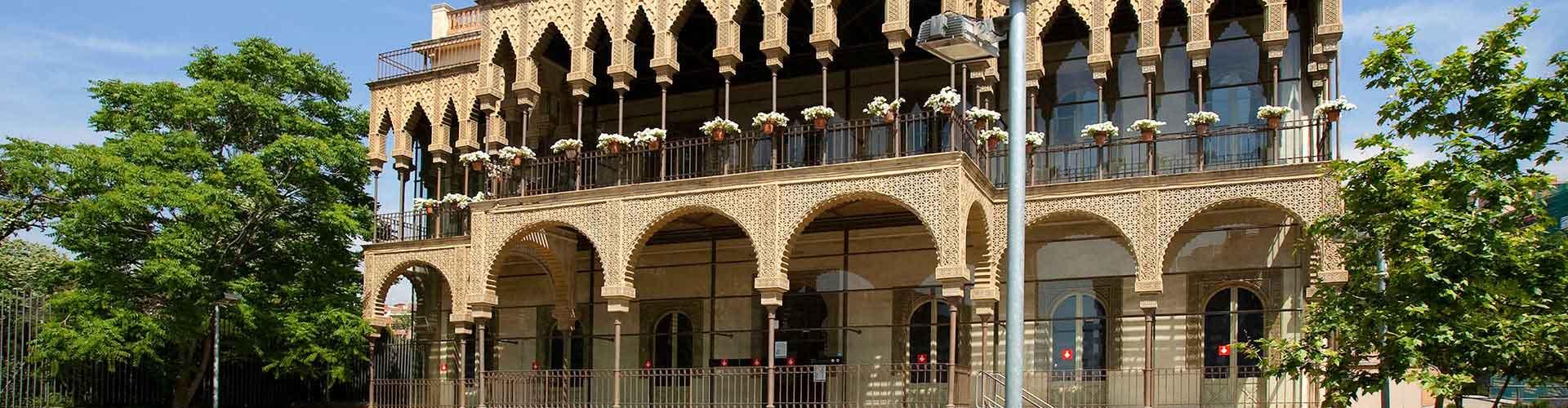 Barcelona - Albergues Juveniles en el distrito Horta-Guinardò . Mapas de Barcelona, Fotos y Comentarios para cada Albergue Juvenil en Barcelona.