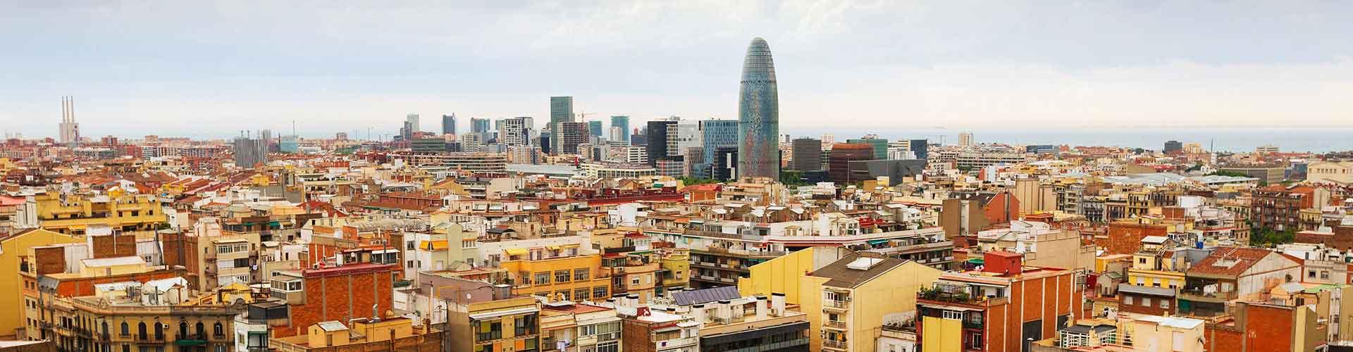 Barcelona - Albergues Juveniles en el distrito Sagrada Família . Mapas de Barcelona, Fotos y Comentarios para cada Albergue Juvenil en Barcelona.