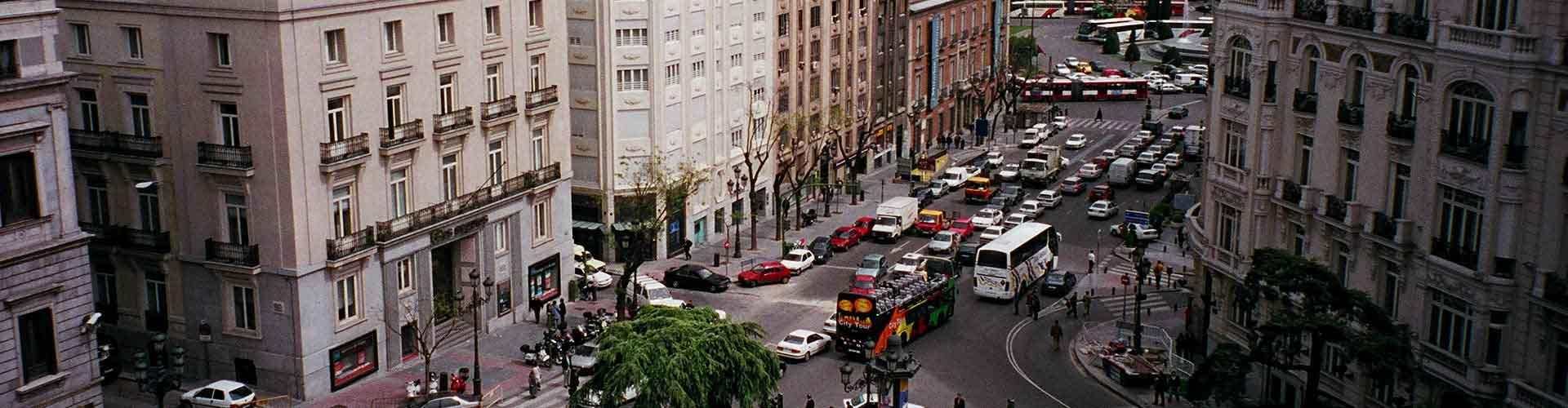 Madrid - Albergues Juveniles en el distrito Cortes . Mapas de Madrid, Fotos y Comentarios para cada Albergue Juvenil en Madrid.