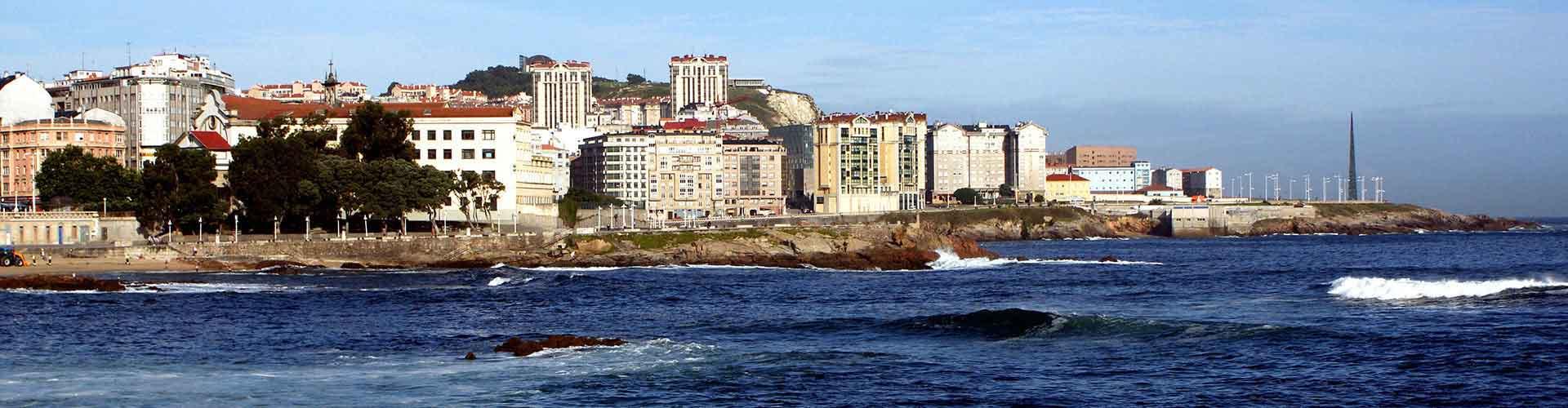 La Coruña - Albergues Juveniles  en La Coruña. Mapas de La Coruña, Fotos y Comentarios para cada Albergue Juvenil en La Coruña.