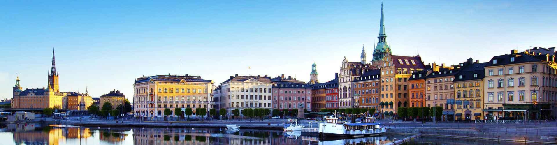 Estocolmo - Albergues Juveniles en Estocolmo. Mapas de Estocolmo, Fotos y Comentarios para cada Albergue Juvenil en Estocolmo.