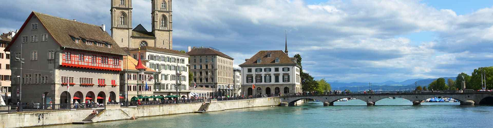 Zurich - Albergues Juveniles en Zurich. Mapas de Zurich, Fotos y Comentarios para cada Albergue Juvenil en Zurich.