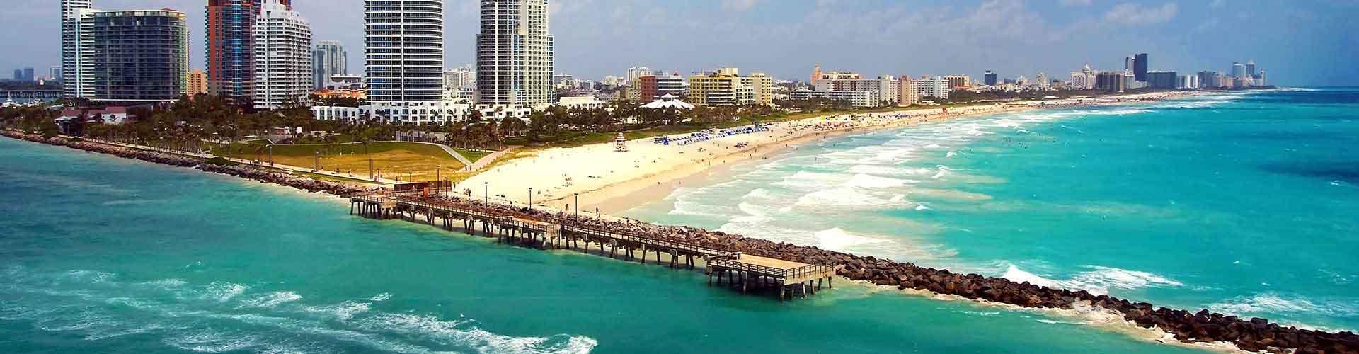 Miami - Albergues Juveniles en Miami. Mapas de Miami, Fotos y Comentarios para cada Albergue Juvenil en Miami.