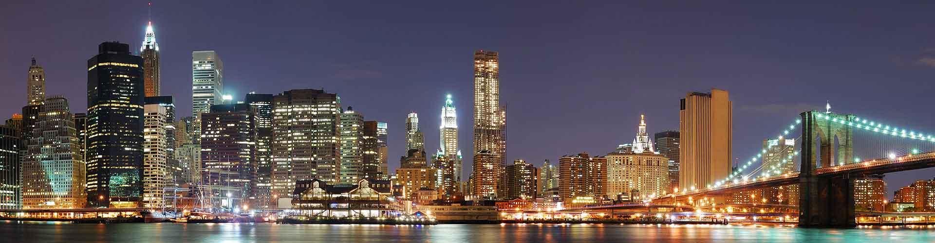 Nueva York - Hoteles baratos en Nueva York. Mapas de Nueva York, Fotos y Comentarios para cada alojamiento en Nueva York.