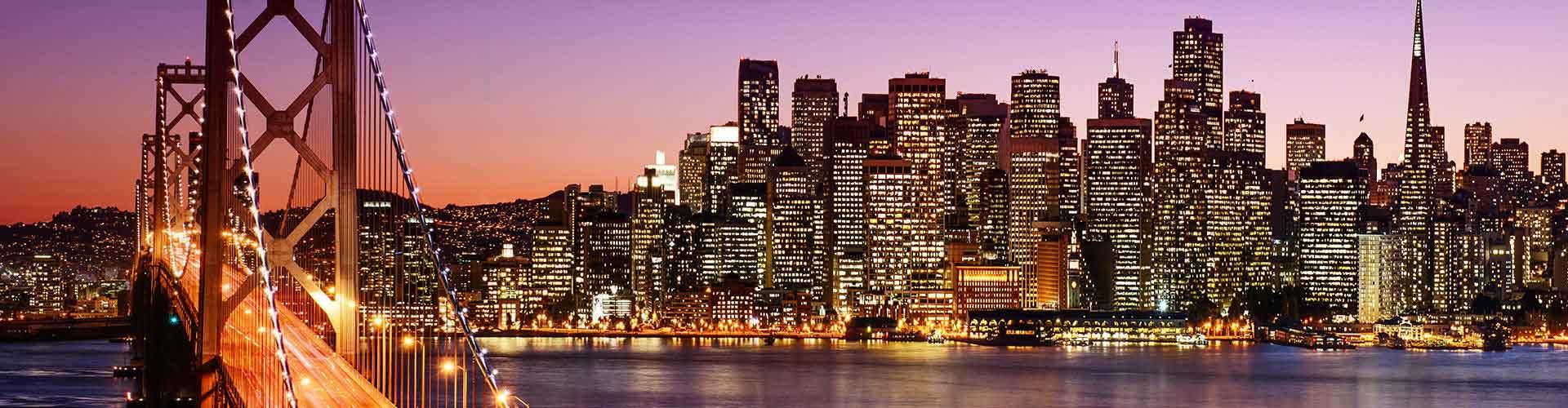 San Francisco - Hoteles baratos en San Francisco. Mapas de San Francisco, Fotos y Comentarios para cada alojamiento en San Francisco.